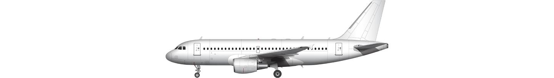 Airbus A319 illustration