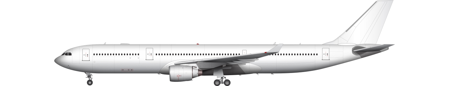 Airbus A330-300 illustration