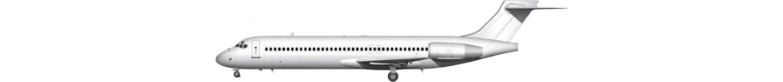 Boeing 717-200 illustration