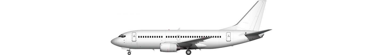Boeing 737-300 illustration