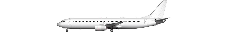 Boeing 737-900 illustration
