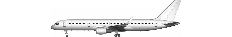 Boeing 757-200 illustration