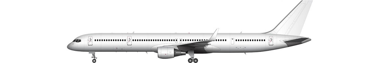 Boeing 757-300 illustration