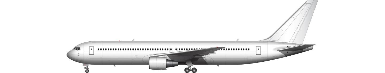 Boeing 767 illustration
