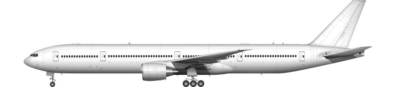 Boeing 777 illustration