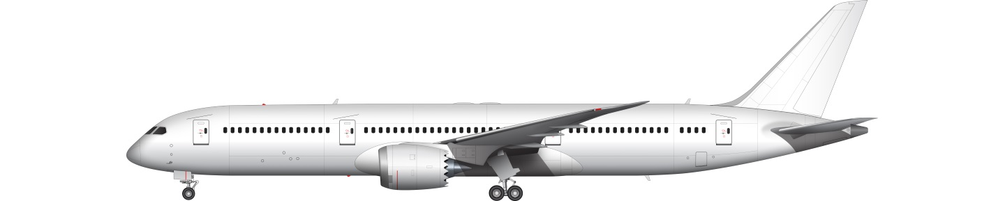 Boeing 787 Dreamliner illustration