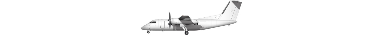 de Havilland Canada DHC-8-100 illustration