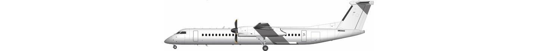 de Havilland Canada DHC-8-400 illustration