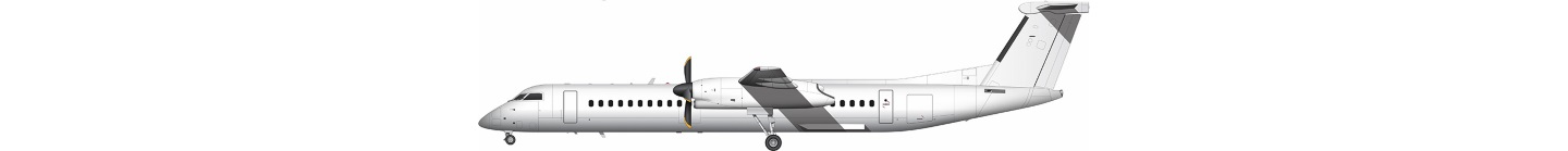 de Havilland Canada Dash 8 illustration
