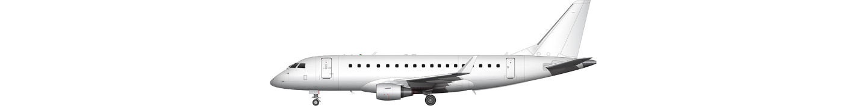 Embraer E175 (long wing) illustration