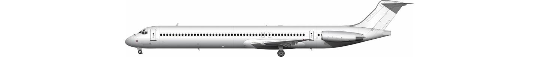McDonnell Douglas MD-82 illustration