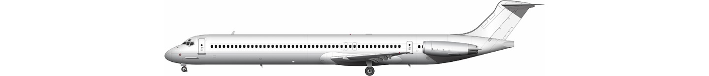 McDonnell Douglas MD-83 illustration